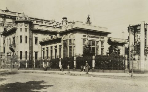Особняк Матильды Кшесинской. Фото 1917 г.