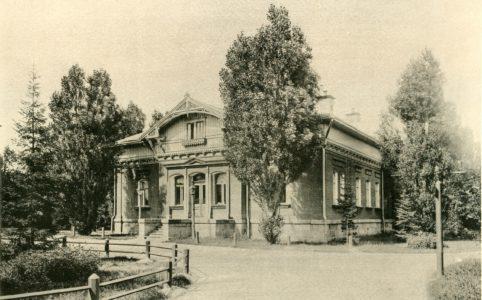 Общественное собрание в Бежице. Фотография Карла Фишера, 1895 г. Из коллекции группы ВК «Брянск глазами разных поколений».