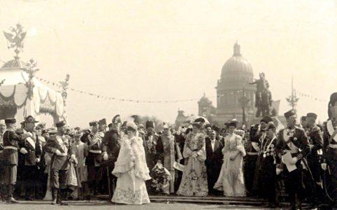 Торжества в честь 200-летия Санкт-Петербурга. 1903 г.
