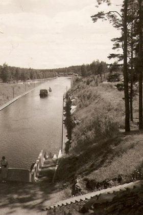 Сайменский канал. Фото 1900-1910х гг.