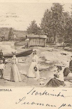Сайменский канал. Открытка 1900-1910х гг.