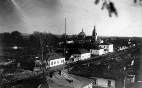 Храм Петра и Павла в Севске. Фото начала XX в.