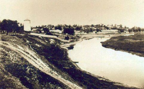 Севск. Земская набережная. Фото 1900-1910х гг.
