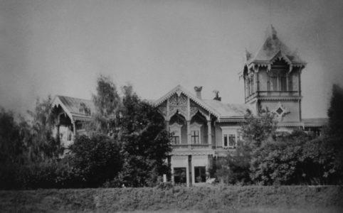 Усадьба Брасово. Фото 1900-1910-х гг.