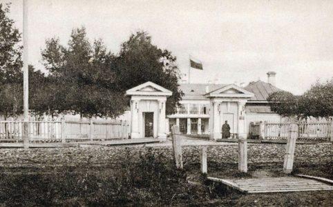 Дом губернатора в Володгде. Фото конца XIX в.